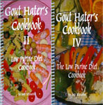 Gout Hater's Cookbooks II and IV
